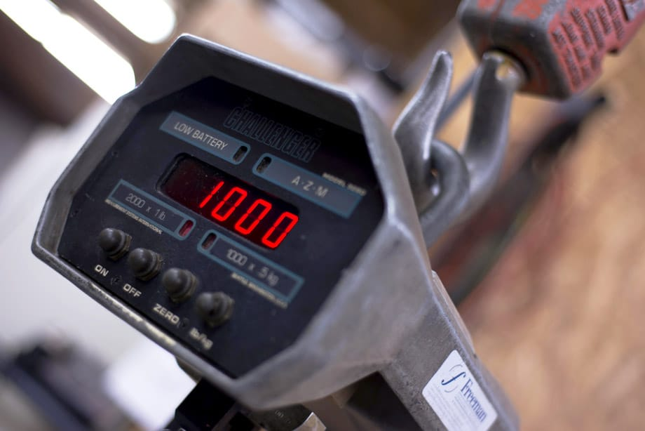 scale calibration, freeman scale buffalo ny